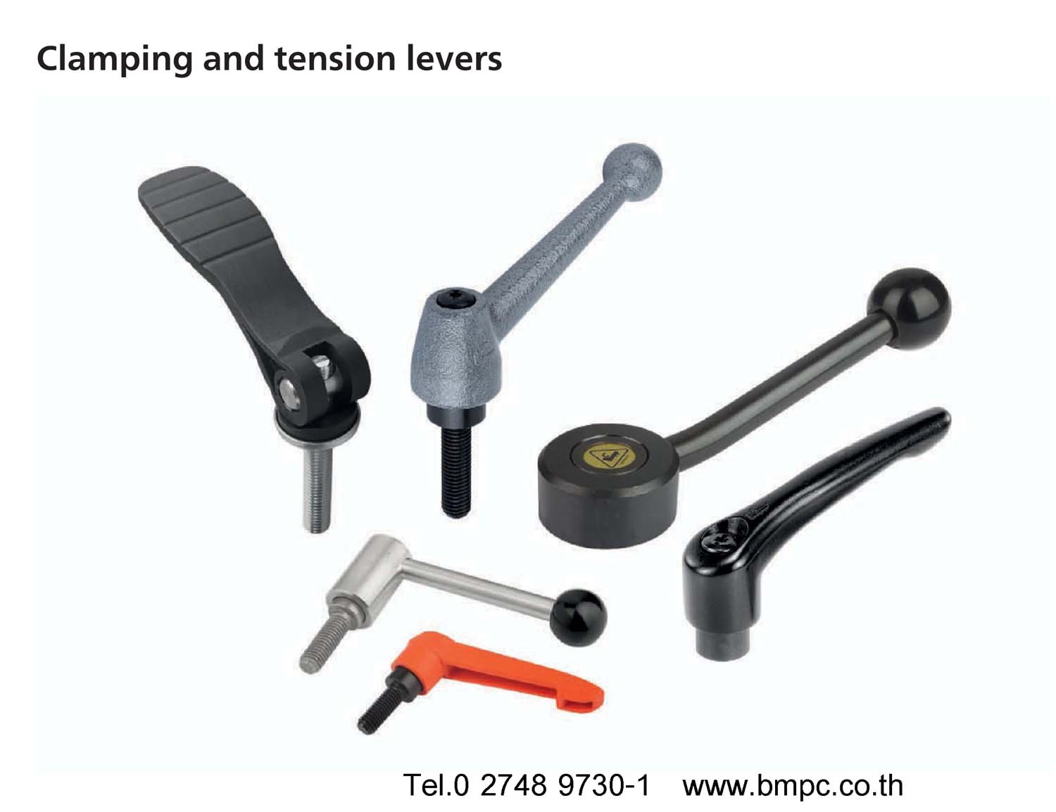 Clamp lever, ด้ามขันล๊อก, Clamp liftable handle, Tension lever, Clamping lever, Cam lever